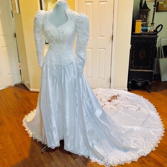 Dresses Alfred Angelo Dream Maker White Wedding Dress Poshmark